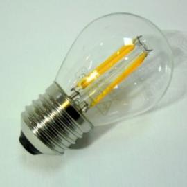 Filamentes LED izzó, E27, 4W