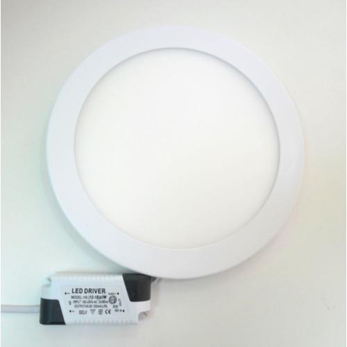 LED k.panel, 12W,  meleg-fehér