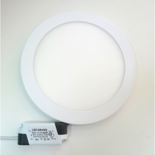 LED k.panel, 18W  meleg-fehér