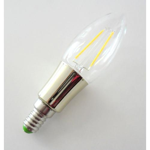 LED gyertya izzó E14, 4W