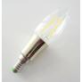 Kép 1/3 - LED gyertya izzó E14, 2W